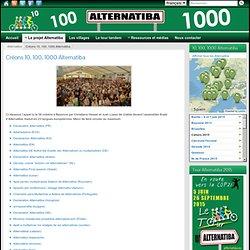 Créons 10, 100, 1000 Alternatiba ⁕ Alternatiba