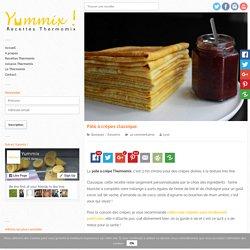 Recette Thermomix de Pâte à crêpes classique
