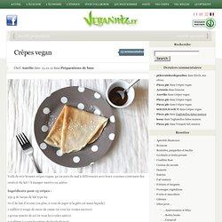 Crêpes vegan