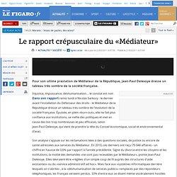 France : Le rapport crépusculaire du «Médiateur»