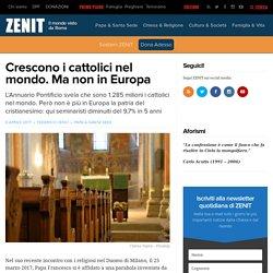 Crescono i cattolici nel mondo. Ma non in Europa – ZENIT – Italiano