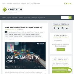 Learn Digital Marketing Course - APTRON Gurgaon