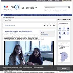 Créteil accueille les élèves allophones - ac-creteil.fr