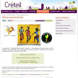 Ville de Créteil - Fête du carnaval africain