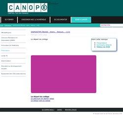 Canopé Créteil - DISPOSITIFS RELAIS : Allers... Retours... (1/3)
