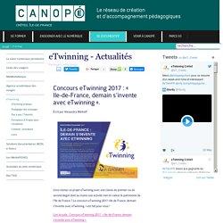 """""""eTwinning - Actualités"""" CANOPÉ Créteil"""