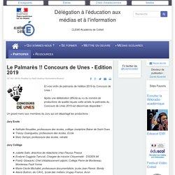 Le Palmarès !! Concours de Unes - Edition 2019