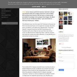 Sarah Crétenet: Kibblz, le nouveau réseau social de comparaison de photos