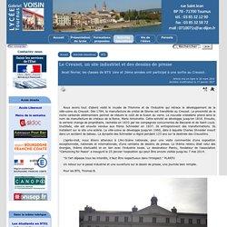 Le Creusot, un site industriel et des dessins de presse - [Lycée Gabriel Voisin - Tournus]