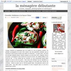 Crevettes Antillaises à la Sauce Chien