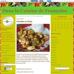 Crevettes au Pesto