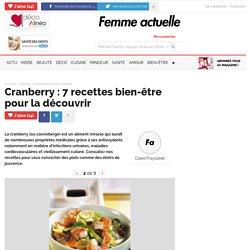 Curry de crevettes à l'aigre-douce et au gingembre - Cranberry : 7 recettes bien-être pour la découvrir