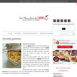 Crevettes gratinées
