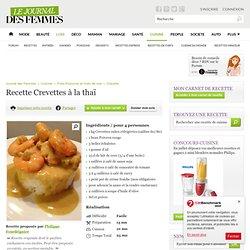 Crevettes à la thaï
