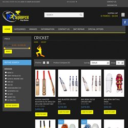 Buy Online Latest Cricket Gears and Accessories bats, balls, batting pads, gloves newzeland