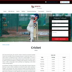Best Top 10 Cricket Coaching, Kids Training Academy & Club Gurgaon