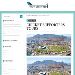Cricket Supporters Tours