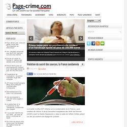 Page Crime - un directeur de banque en examen pour complicité de