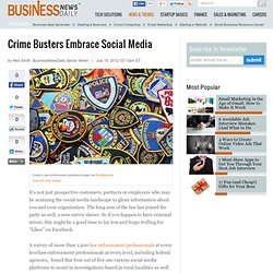 80% of Officials Use Social Media to Solve Crimes