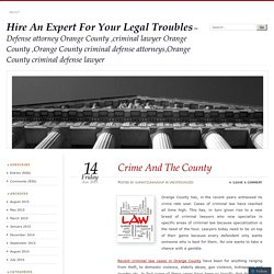 Hire An Expert For Your Legal Troubles