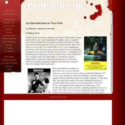Crimeculture