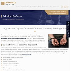 Criminal Defense Attorneys Dayton