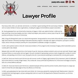 Criminal Defence Lawyer Calgary