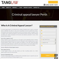 Are You Looking For Hiring The Best Lawyer To File An Appeal?