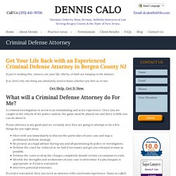 Top Criminal Defense Lawyer in NJ