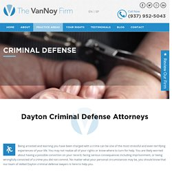 Dayton Criminal Defense Lawyers