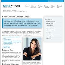 Boise Criminal Defense Lawyer
