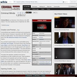 Criminal Minds - Criminal Minds Wiki