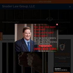 Criminal Appeal Process Pt. 1 - Phoenix Criminal Appeal Attorney