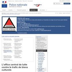 [FR] OCBC - Office central de lutte contre le trafic de biens culturels