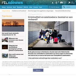 Criminaliteit en asielzoekers: bestaat er een verband?