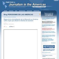Mapeo de la criminalización de la difamación en América Latina: leyes que afectan la libertad de expresión