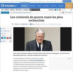 Les criminels de guerre nazis les plus recherchés