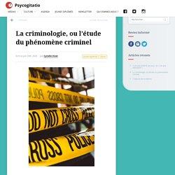 La criminologie, ou l'étude du phénomène criminel
