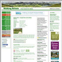 Cringle Moor & the Wain Stones - North York Moors North Yorkshire - Walk 3418 - a walk description from Walking Britain