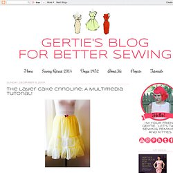 The Layer Cake Crinoline: A Multimedia Tutorial!
