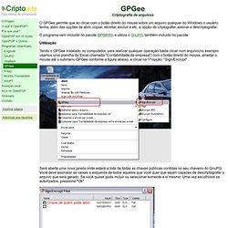 Programas - GPGee