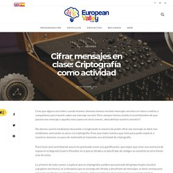Encrypt messages in class: Cryptography as an activity - Blog Europeanvalley