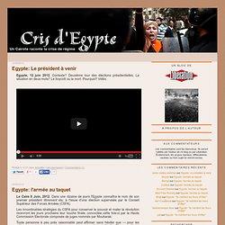 Cris d'Egypte