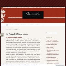 crise de 1929 « Galmaril