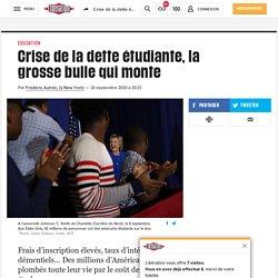 Crise de la dette étudiante, la grossebulle qui monte