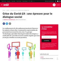 Crise du Covid-19 : une épreuve pour le dialogue social