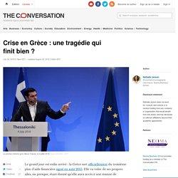 Crise en Grèce:unetragédie qui finit bien?