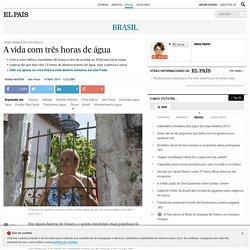 Crise Hídrica em São Paulo: A vida com três horas de água