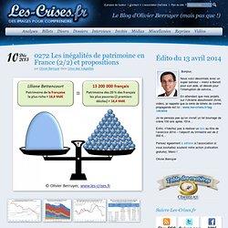 L'inégalité source d'instabilité - Les Crises Olivier Berruyer