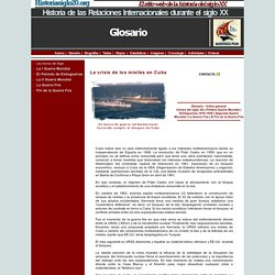 La crisis de los misiles en Cuba, 1962